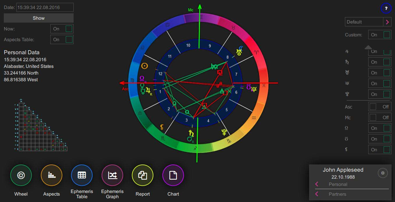 Astrology Software for Mac OS, Windows