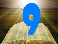 numerology bible number 9