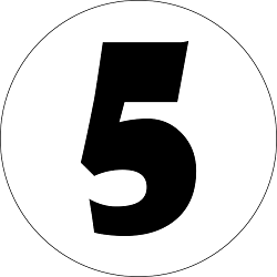 number 5, numerology