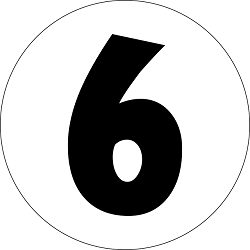 number 6, numerology