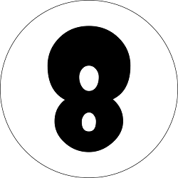 number 8, numerology