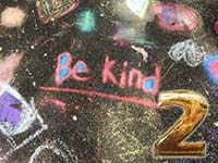 be kind, two